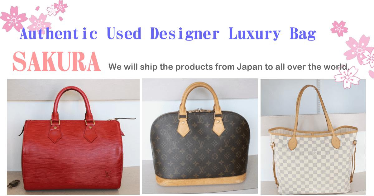 7f2b9ecd44 Authentic Used Designer Luxury Bag SAKURA