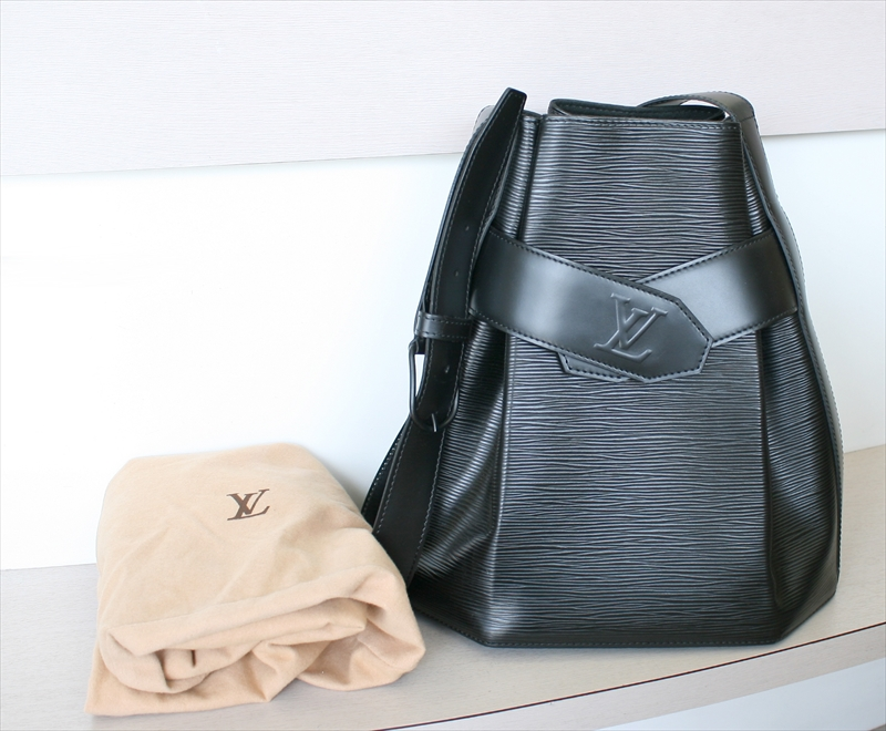 LOUIS VUITTON SAC DEPAULE PM Epi Noir