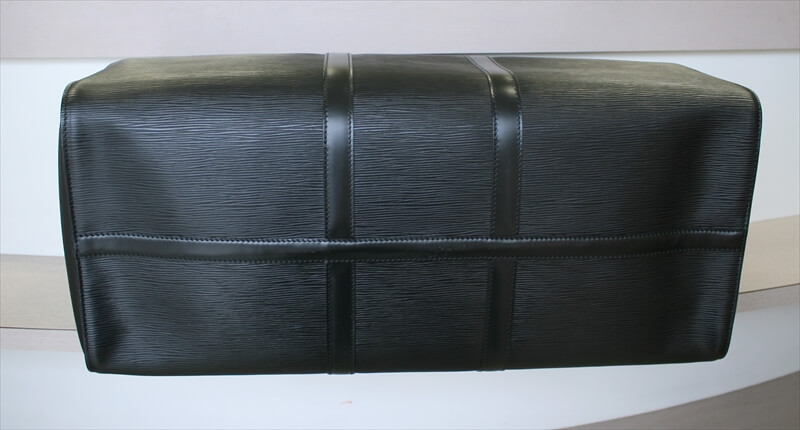 LOUIS VUITTON KEEPALL 55 Epi Black