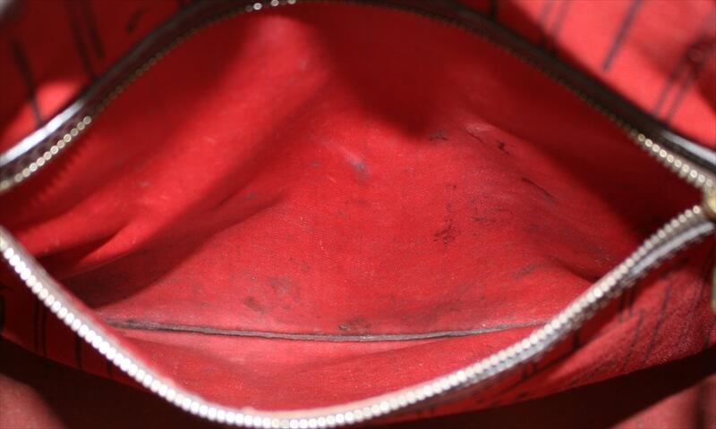 LOUIS VUITTON NEVERFULL MM Damier Ebene Tote Bag