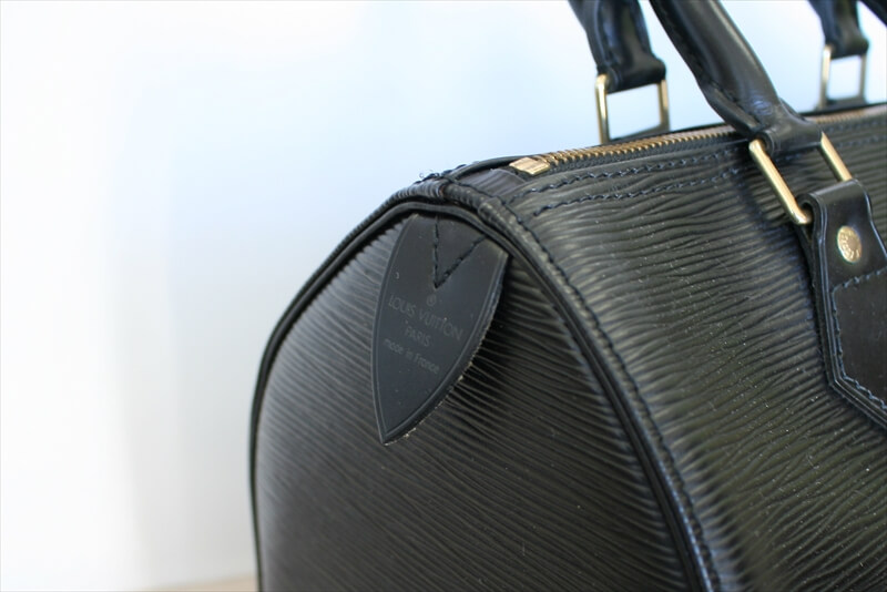 LOUIS VUITTON SPEEDY 25 BLACK NOIR handbag