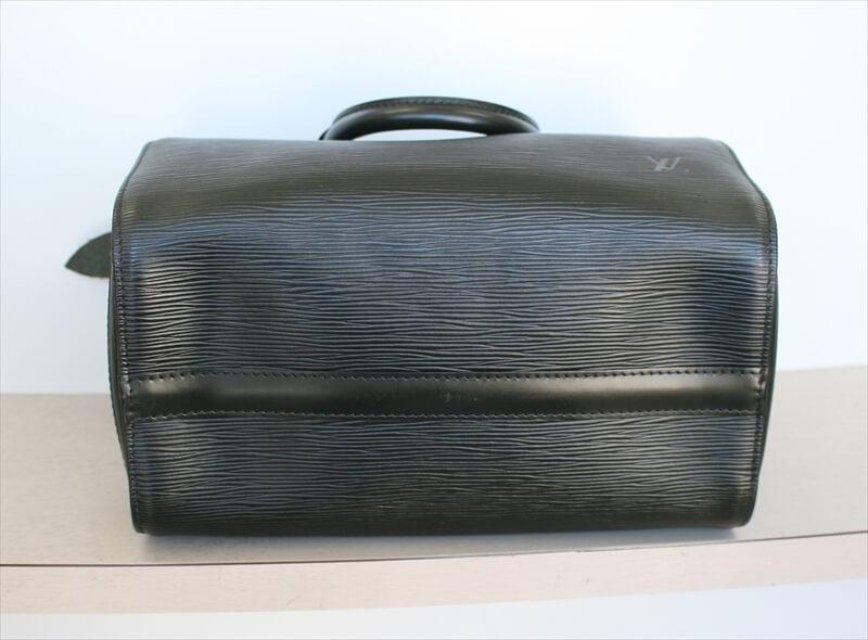 LOUIS VUITTON SPEEDY 25 BLACK NOIR handbag