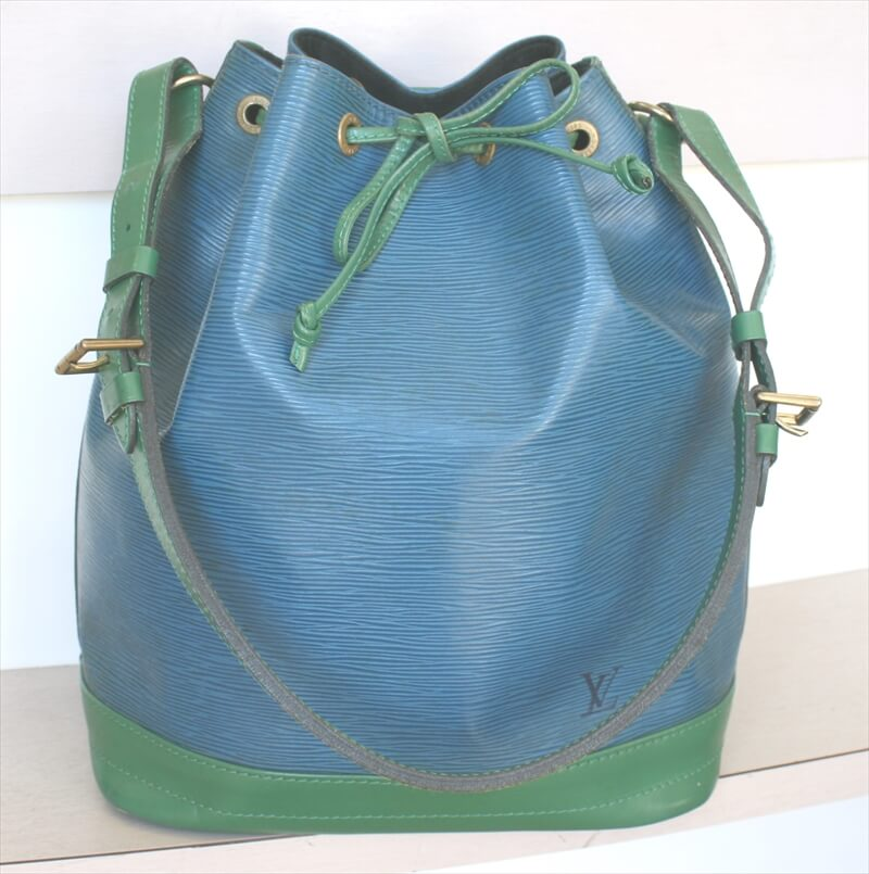 LOUIS VUITTON NOE EPI Blue&Green