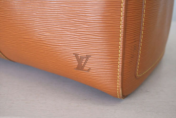 LOUIS VUITTON KEEPALL 50 Epi Cipangogold