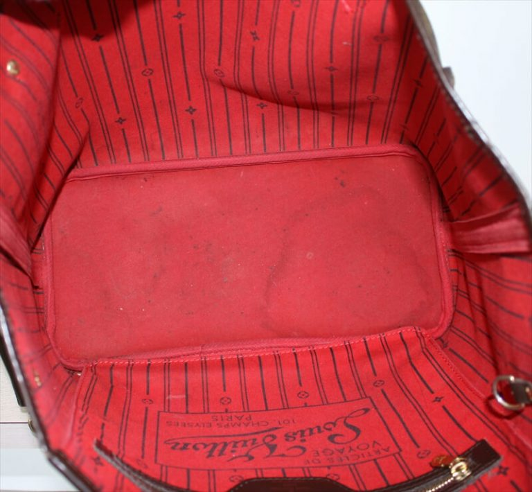 NEVERFULL MM Damier Ebene Tote Bag