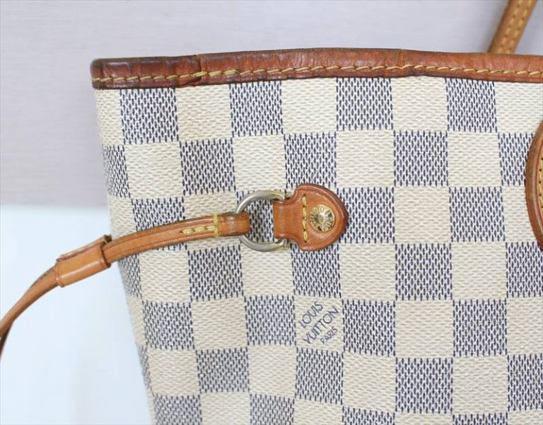 LOUIS VUITTON NEVERFULL MM Damier Azur