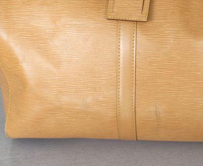 KEEPALL 50 Epi leather Beige
