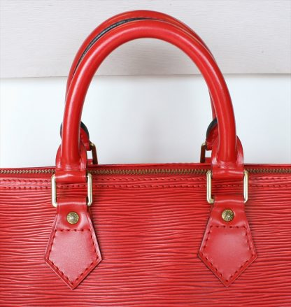 LOUIS VUITTON SPEEDY 30 Epi Red