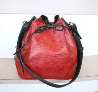 PETIT NOE Epi Red Black Bi-color