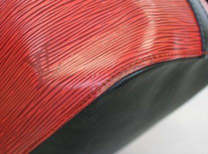 PETIT NOE Epi Red Black Bi-colorz